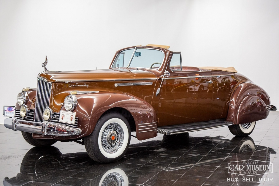 Packard One-Twenty Convertible Coupe 1942